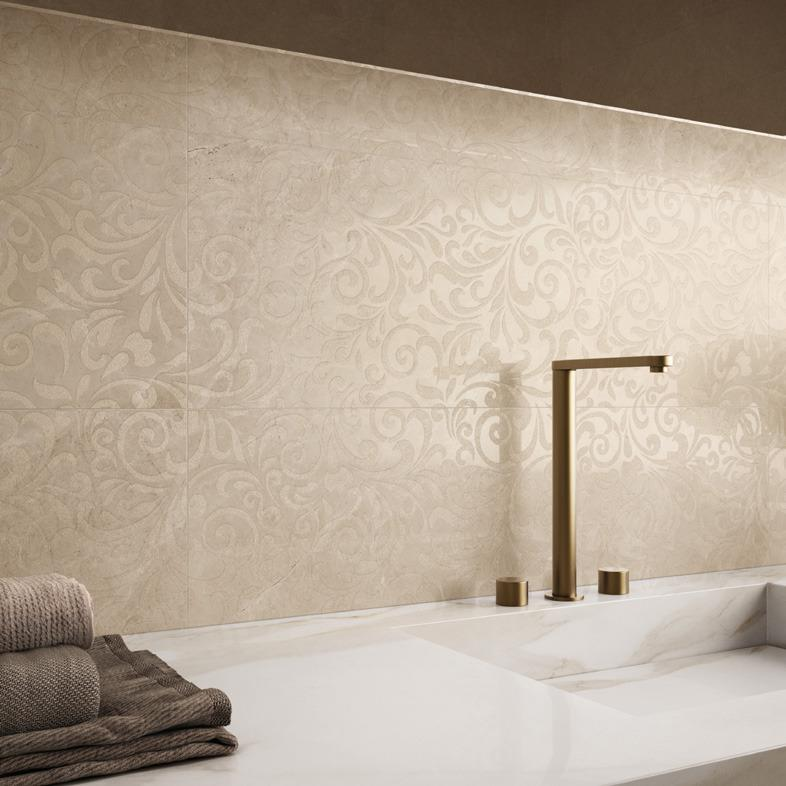 Pavimento e rivestimento effetto marmo Purity of Marble - Royal Beige