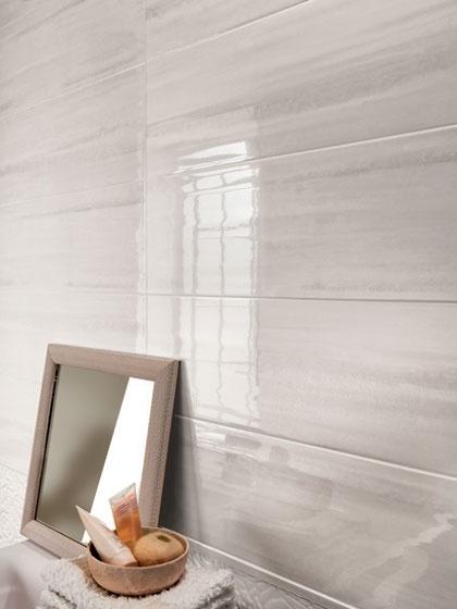 Sole rivestimento bagno colore bianco fap ceramiche - Rivestimento bagno bianco ...