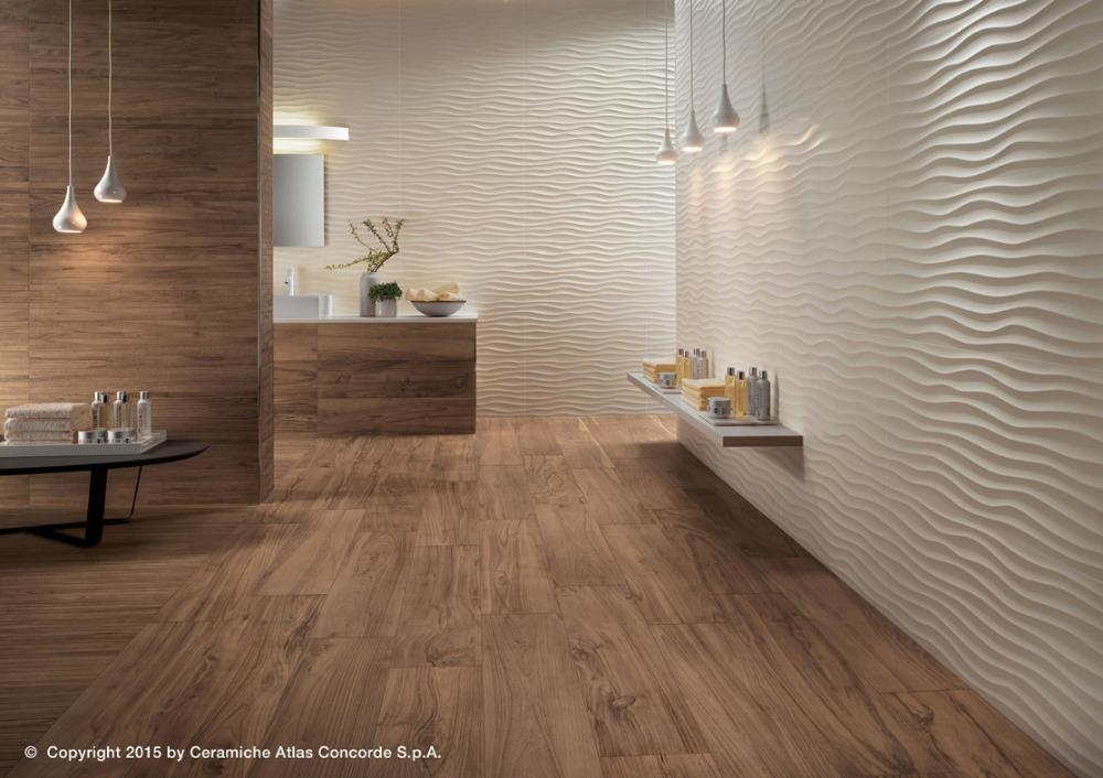 Rivestimento ceramico 3D Wall Design Ribbon | Atlas Concorde