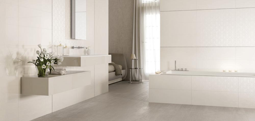 Rivestimento da bagno Melody - White | Ceramiche Supergres