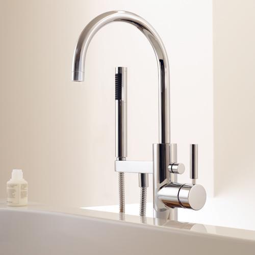 Rubinetteria per vasca da bagno con doccetta tara logic - Rubinetto vasca da bagno ...