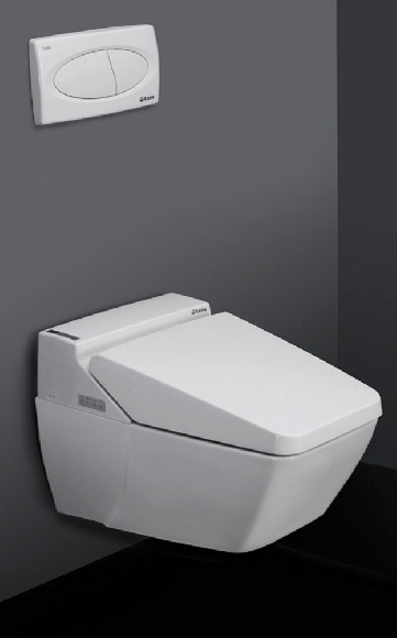 Sanijet wc intelligente multifunzione con doppio bidet for Wc con bidet