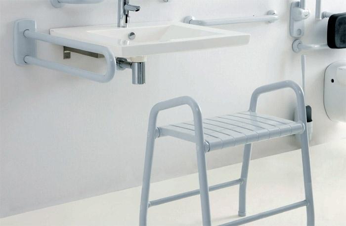 Seggioli e sgabelli per disabili e anziani ponte giulio s p a - Accessori bagno disabili ...