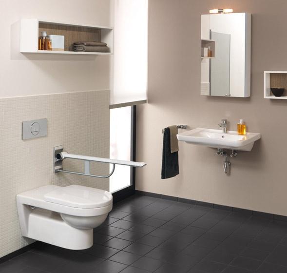 Sistema bagno per disabili omnia vita villeroy boch - Villeroy boch bagno ...