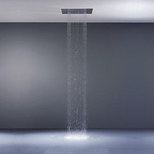 Soffione doccia a soffitto big rain dornbracht - Soffione doccia a soffitto ...