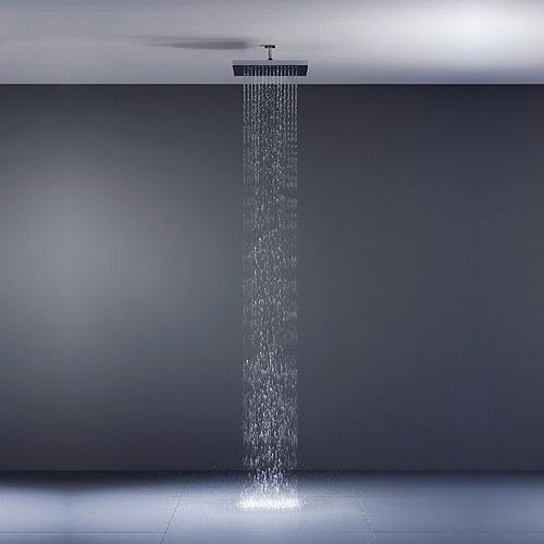 Soffione doccia a soffitto just rain dornbracht - Soffione doccia a soffitto ...