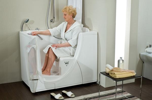 Vasca da bagno con sportello vasca per anziani e vasche per