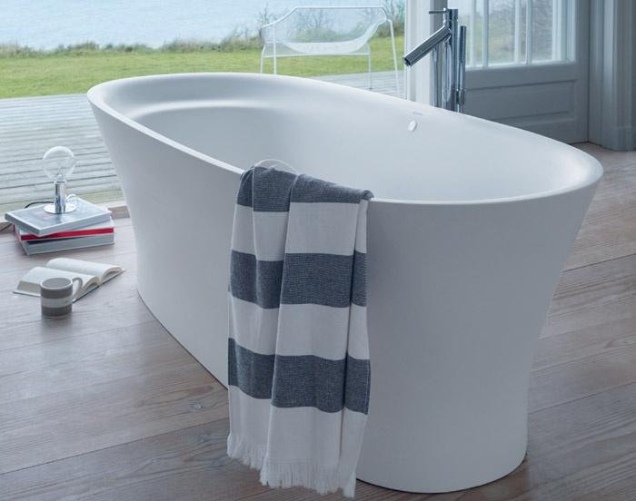 Vasca da bagno cape cod duravit - Come lucidare una vasca da bagno opaca ...