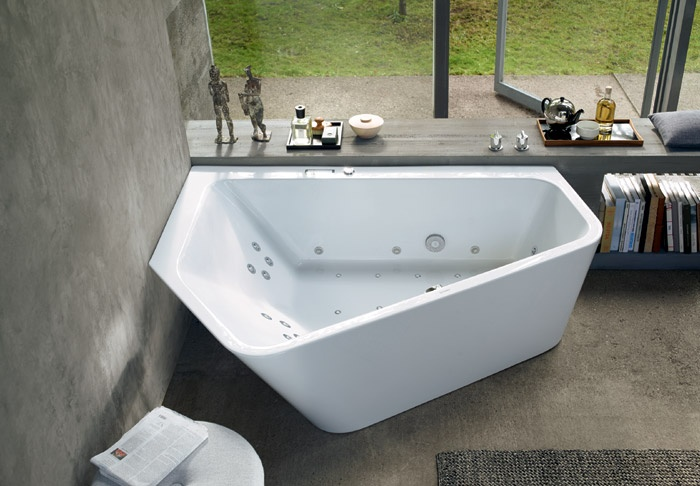 Vasca da bagno con idromassaggio Paiova 5 | Duravit