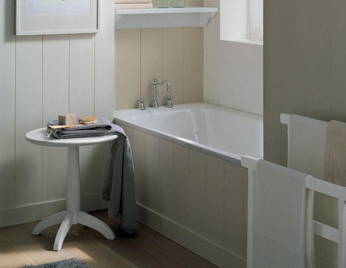 Rivestimento In Legno Per Vasca Da Bagno : Vasca da bagno con mensole di servizio nuovo mondo scandola