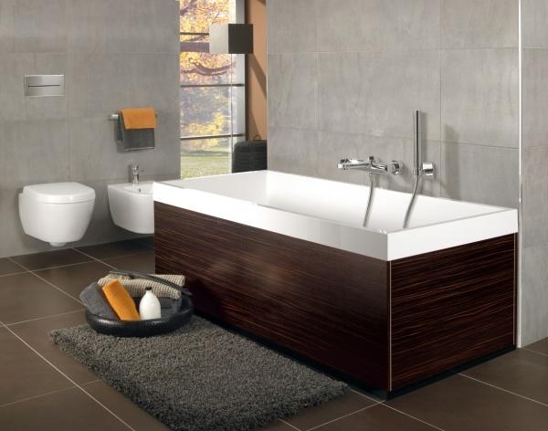 Vasca da bagno rettangolare Squaro Slim | Villeroy Boch