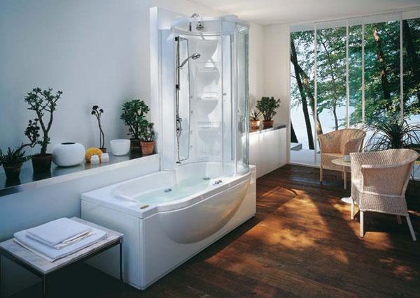 Vasca doccia combinata amea twin premium jacuzzi