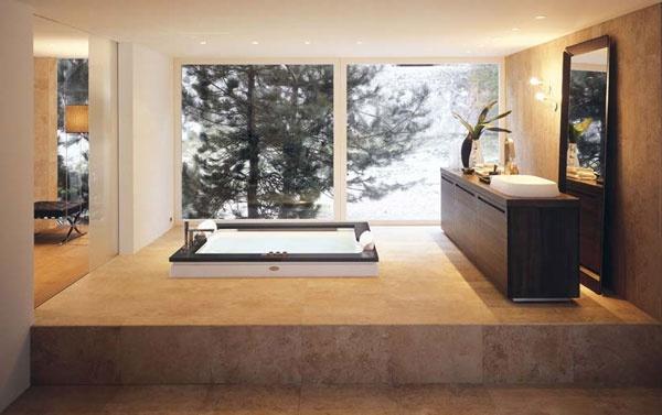 Vasche Da Bagno Ad Incasso : Vasca idromassaggio doppia ad incasso aura plus jacuzzi