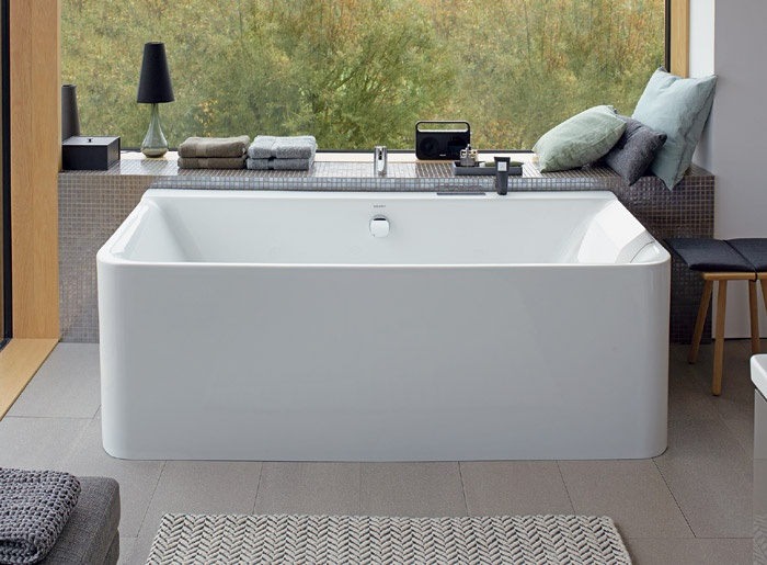 Vasca Da Bagno Duravit : Vasche da bagno p comforts duravit