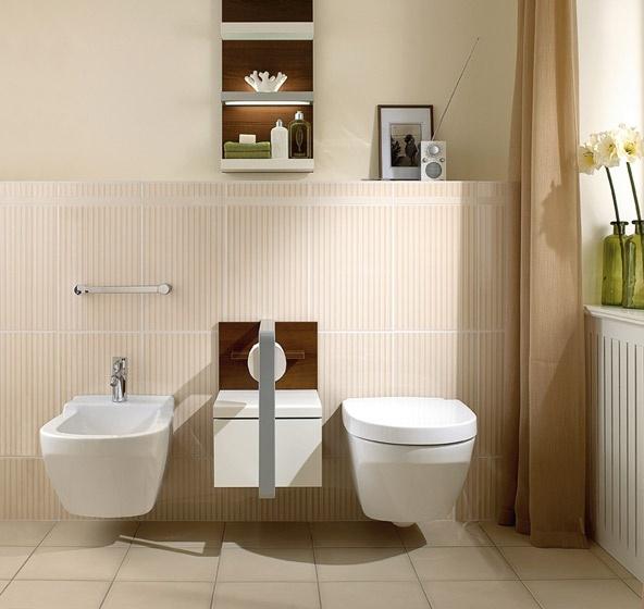 vaso e bidet sospesi lifetime villeroy boch. Black Bedroom Furniture Sets. Home Design Ideas